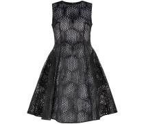 Kleid mit Laser-Cuts