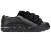 Sneakers mit Pelz