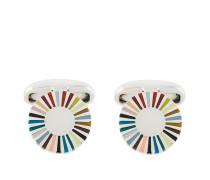 Manschettenknöpfe mit Farbkreis-Motiv