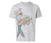 T-Shirt mit Weihnachts-Print