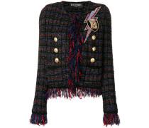 Verzierte Tweed-Jacke