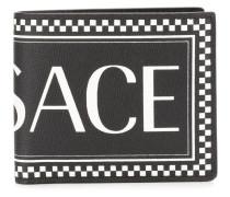 logo print bi-fold wallet