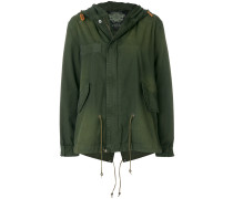 classic mini parka coat
