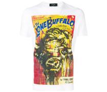 """T-Shirt mit """"The Lone Buffalo""""-Print"""