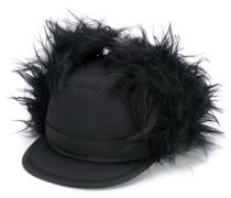 Kappe aus Faux Fur