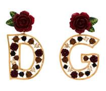 Ohrringe mit Logo-Verzierung