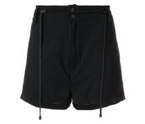 drawstring detail shorts