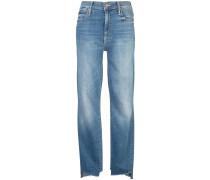 Ausgefranste Skinny-Jeans