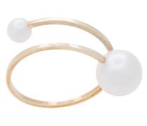 14kt 'Louise' Goldring mit Perlen