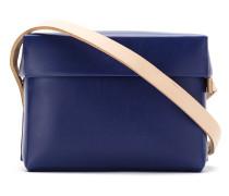 Handtasche mit Lederriemen