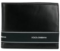 Portemonnaie mit Logo-Streifen