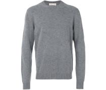 Wollsweatshirt in Distressed-Optik
