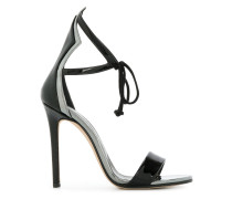 open-toe heel sandals