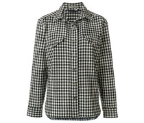checked canvas jacket