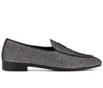 G-Flash velvet loafers