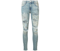 'Crystal Painter' Jeans