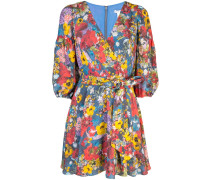 Kerri Bishop blossom wrap dress