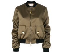 pocket detail bomber jacket