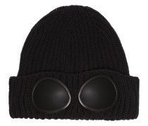 black wool hat sunglasses detail