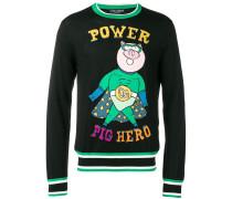 'Pig Power' Pullover