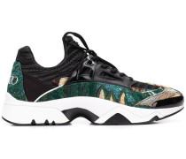 Sneakers mit Dschungel-Jacquardmuster