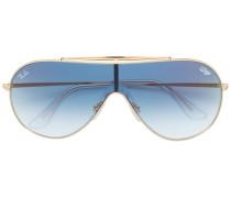 Wings aviator sunglasses