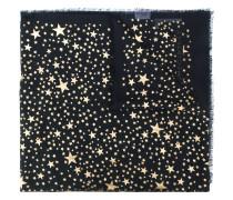 Schal mit Stern-Motiven