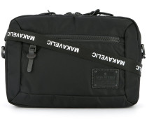 bi-layer crossbody pouch bag