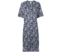 Kleid mit Farbklecks-Print