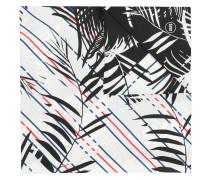 Seidenschal mit Palmen-Print