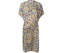 'Dipha' Kleid mit Blatt-Print