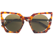 Sonnenbrille mit Cat-Eye-Gestell