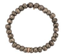 14kt Goldarmband mit Pyrit