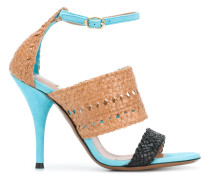 ankle fastened sandals