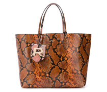snake effect tote bag