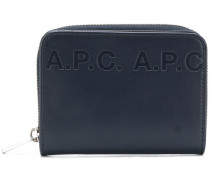 A.P.C. 'Emmanuel' Portemonnaie mit Logo