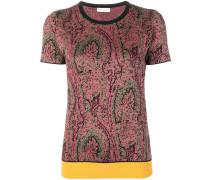 T-Shirt mit Boheme-Print
