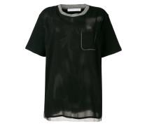 T-Shirt mit Glitter-Details