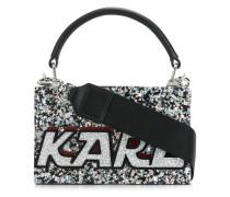 star metallic tote bag