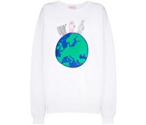 Besticktes Sweatshirt