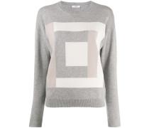 Pullover mit Quadraten