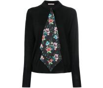archive floral tie cardigan