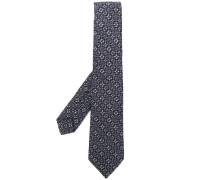 Gemusterte Brokat-Krawatte