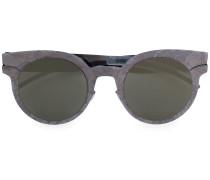 Runde Cat-Eye-Sonnenbrille