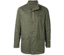 Military-Jacke mit Stehkragen