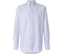 Gestreifte Button-Down-Shirts