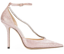 crystal detail stiletto pumps