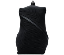 pleated backpack