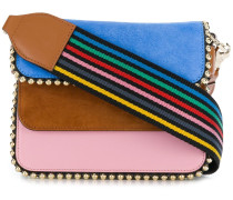 colour block mini crossbody bag