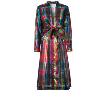 foil bow dress